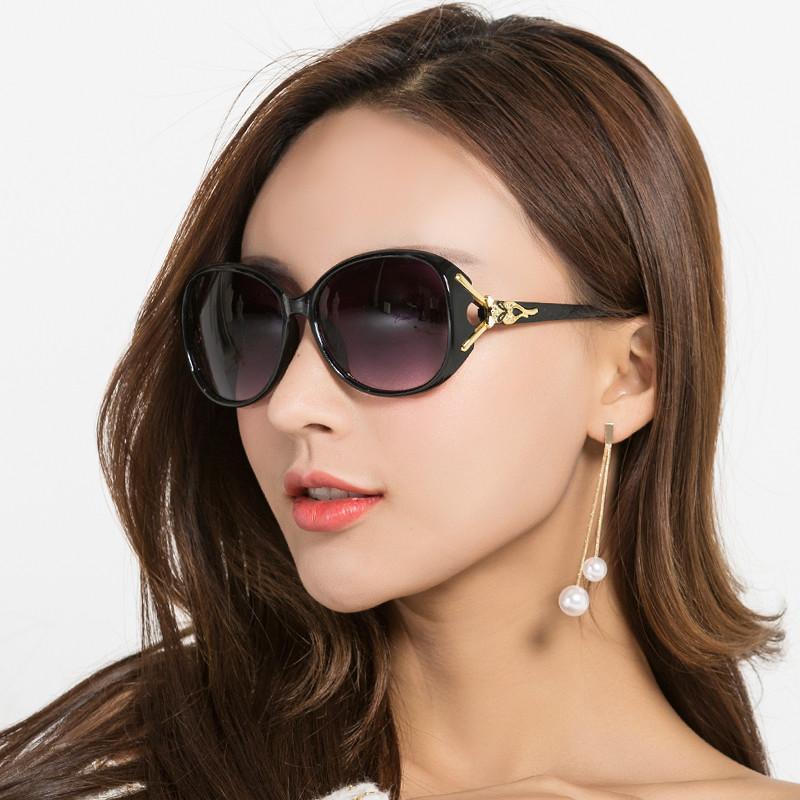 偏光2020新款太阳眼镜圆脸墨镜女防紫外线街拍韩版潮ins女士眼睛